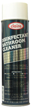 Claire Disinfectant Bathroom Cleaner 20oz Item # 866 Case of 12 - Brilliant Vacuum