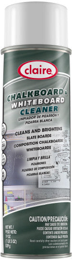 Claire Chalkboard and Whiteboard Cleaner 20oz Item # 867 Case of 12 - Brilliant Vacuum