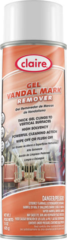 Claire Gel Vandal Mark Remover 20oz Item # 880 - Brilliant Vacuum