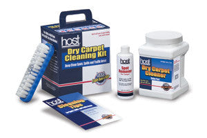 HOST® Dry Carpet Cleaning Kit - Brilliant Vacuum