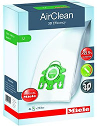 Miele AirClean 3D Efficiency Filter Bags Type U