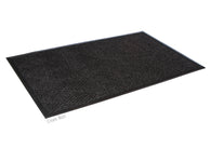 Super Soaker Diamond Floor Mat With Rubber Edge 2' x 3' Charcoal
