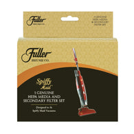 Fuller Brush Spiffy Maid HEPA Media and Foam Filter Set