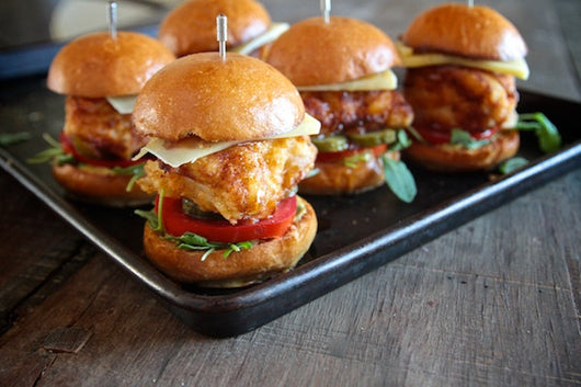 Fried Chicken Sliders (Catering)