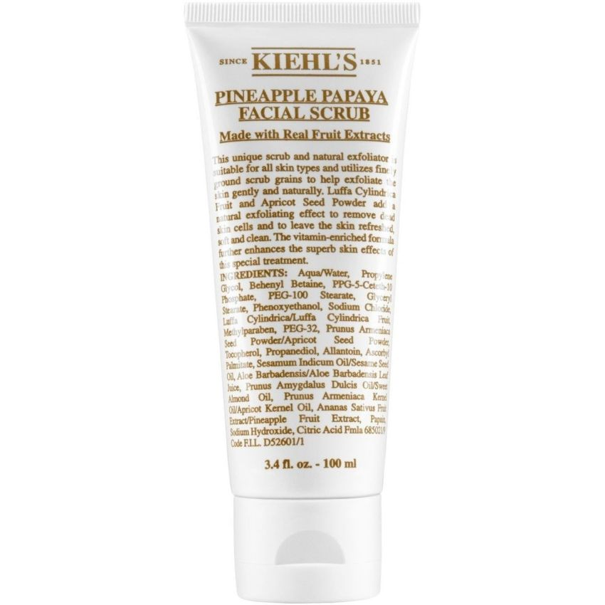 ???? ?????? ??????? ?????? Shop-Kiehls-Pineapple-Papaya-Facial-Scrub-100-Ml