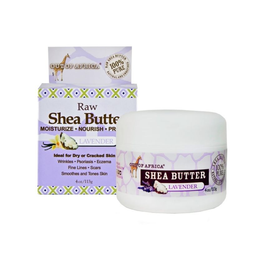???? ????? ???????? Shop-Out-Of-Africa-100-Pure-Lavender-Shea-Butter-Jar