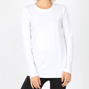 Everyday White Long-sleeve