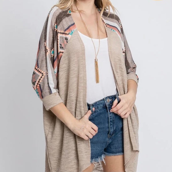 A Little Aztec Cardigan