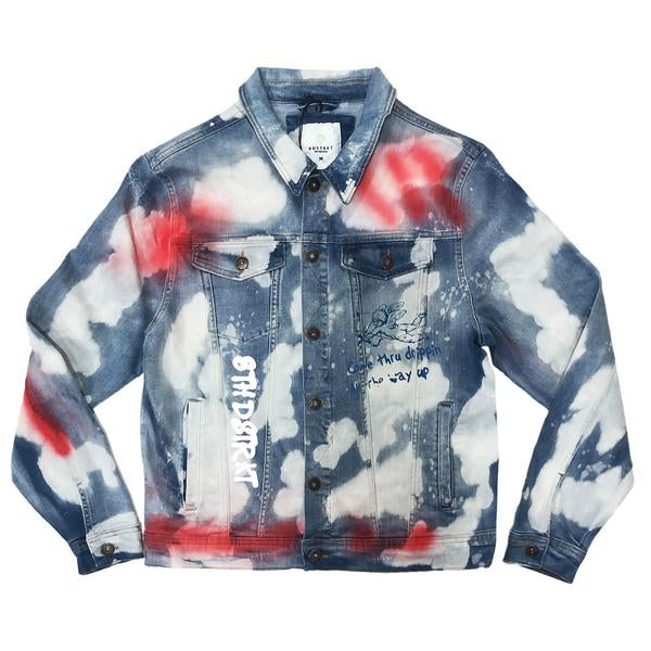 8TH DSTRKT EUROPEAN WASH DENIM JACKET