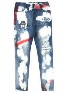 8TH DSTRKT EUROPEAN WASH DENIM PANT