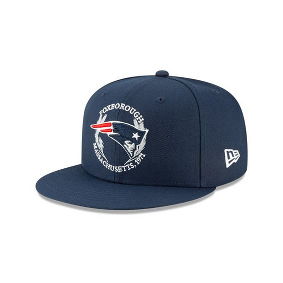 NEW ERA New England Patriots 2019 On-Stage NFL Draft 9FIFTY Snapback Hat - Village Mart