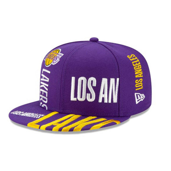 NEW ERA Los Angeles Lakers NBA Authentics Tip Off Series 9FIFTY Snapback - Village Mart