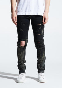 CRYSP MONTANA DENIM (BLACK RUST) - Village Mart