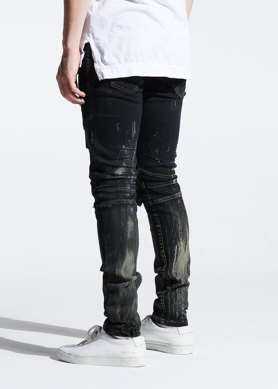 CRYSP MONTANA DENIM (BLACK RUST)