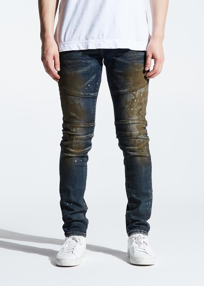 CRYSP MONTANA DENIM (DARK INDIGO OIL)