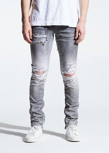 CRYSP PACIFIC DENIM (GREY OMBRE) - Village Mart