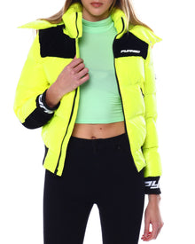 BLACK PYRAMID Logo Bubble Puffer - Village Mart