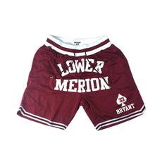 Head Gear -Kobe Bryant Lower Merion Front Logo Basketball Shorts - Village Mart