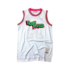 HEAD GEAR FRESH PRINCE WHITE BASKETBALL Jersey