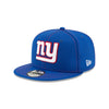 NEW ERA NEW YORK GIANTS OFFICIAL NFL SIDELINE ROAD 9FIFTY SNAPBACK