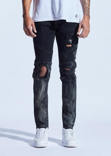 CRYSP SKYWALKER DENIM (DARK BLUE RUST) - Village Mart