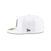 NEW ERA PITTSBURGH STEELERS OFFICIAL NFL SIDELINE PLATINUM 59FIFTY FITTED