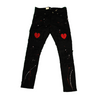 FOCUS JEANS Heart Broken Pants