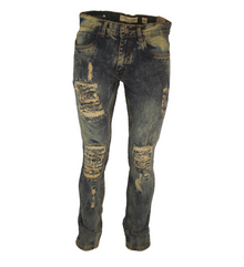 EVOLUTION Men's Ragged Out Denim
