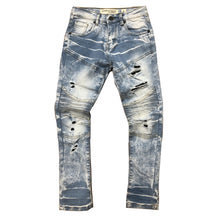 EVOLUTION Little Kids Lighting Biker Denim Pants - Village Mart