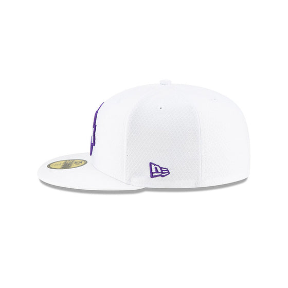 NEW ERA MINNESOTA VIKINGS OFFICIAL NFL SIDELINE PLATINUM 59FIFTY FITTED
