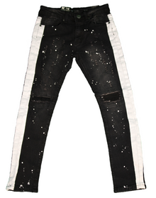 WAIMEA Side Stripe Kids Skinny Jeans - Village Mart