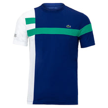 LACOSTE SPORT Colourblock Breathable Piqué Tennis T-shirt
