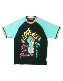 BLAC LEAF Love All Fist Tee - Village Mart