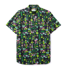 LACOSTE Unisex X Jeremyville Regular Fit Cotton Shirt