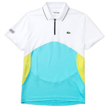 LACOSTE Men's Placket Tennis Polo Shirt DH4747-YGZ