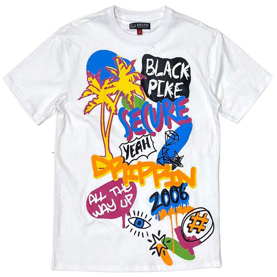 BLACK PIKE All The Way Up T-shirt - Village Mart