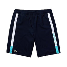LACOSTE Men's Color Block Contrast Striped Light Shorts VGU