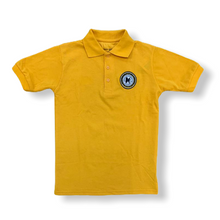 M.A.H.S. Kids Unisex Gold School Polo - Village Mart
