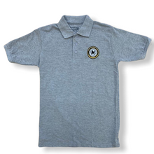 M.A.H.S. Kids Gray Unisex School Polo - Village Mart