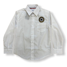 M.A.H.S. Boys Long Sleeve White Oxford Button-Down - Village Mart