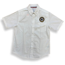 M.A.H.S. Boys Short Sleeve White Oxford Button-Down - Village Mart