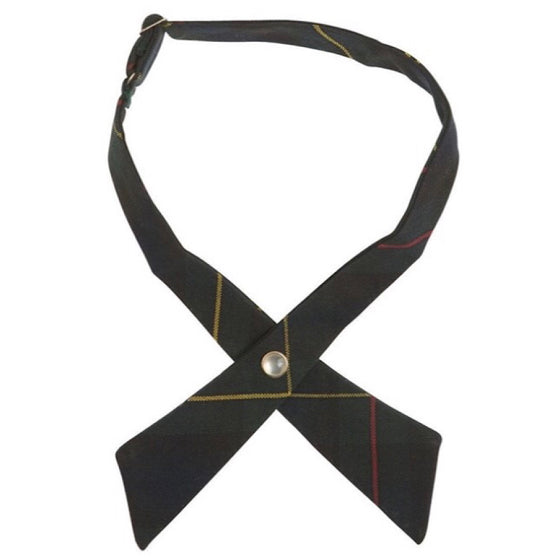 Adjustable Solid Color Cross Tie