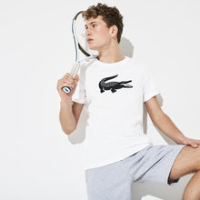 LACOSTE Men's SPORT Oversized Crocodile Technical Jersey Tennis T-Shirt - Village Mart