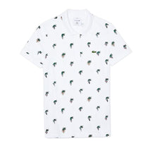 Unisex LACOSTE x Jean-Michel Tixier Print Regular Fit Polo Shirt - Village Mart