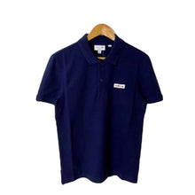 LACOSTE Solid Polo W/ Multicolor Badge On Chest 'SUMMER'