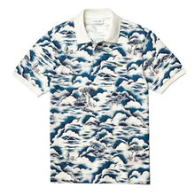 LACOSTE Men's Print Cotton Piqué Classic Fit Polo Shirt - Village Mart