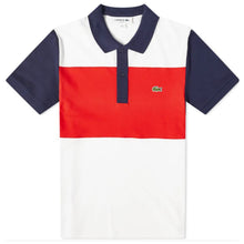 LACOSTE Men's Stretch Colourblock Polo Shirt