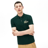 LACOSTE Men's Regular Fit Croco Magic Cotton Piqué Polo