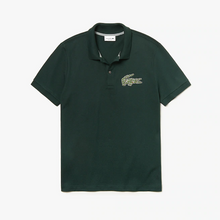 LACOSTE Men's Regular Fit Croco Magic Cotton Piqué Polo - Village Mart