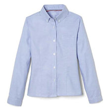 FRENCH TOAST Girls' Long Sleeve Oxford Blouse